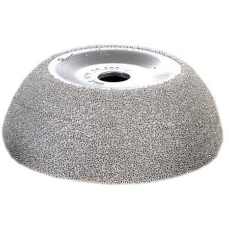 """2.5"""" Cup Silver Carbide Buffing Whhel"""