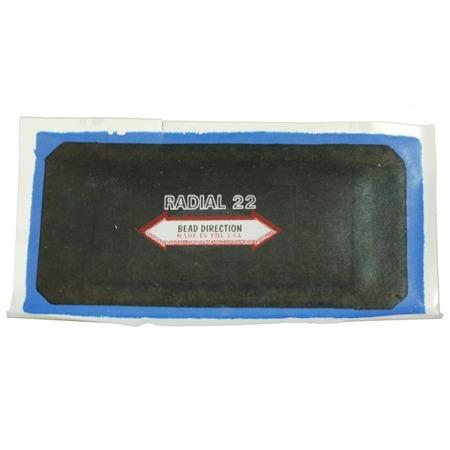 Radial Aramid Patch AR 22 (2ply) 76x150 mm