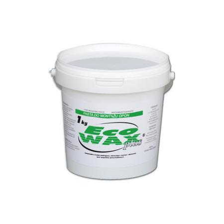"""""""ECO-WAX plus"""" pasta montażowa do opon 1kg biała"""