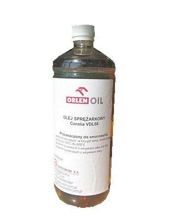 Olej do sprężarek śrubowych 1 litr