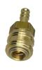 Szybkozłącze uniwersalne RECTUS 8mm (złote)